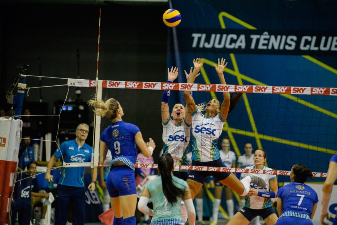 Rio Fights From 2-0 To Beat Hinode. Round 2 Of Women's Superliga Recap