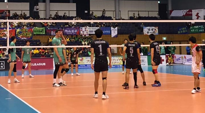 Japan Men's League: Three way tie for 1st
