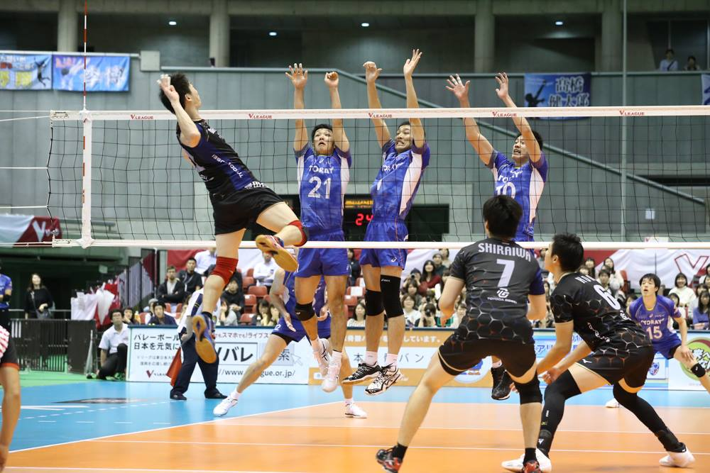 Japan Men: Trefuerza take revenge on Toray in opener
