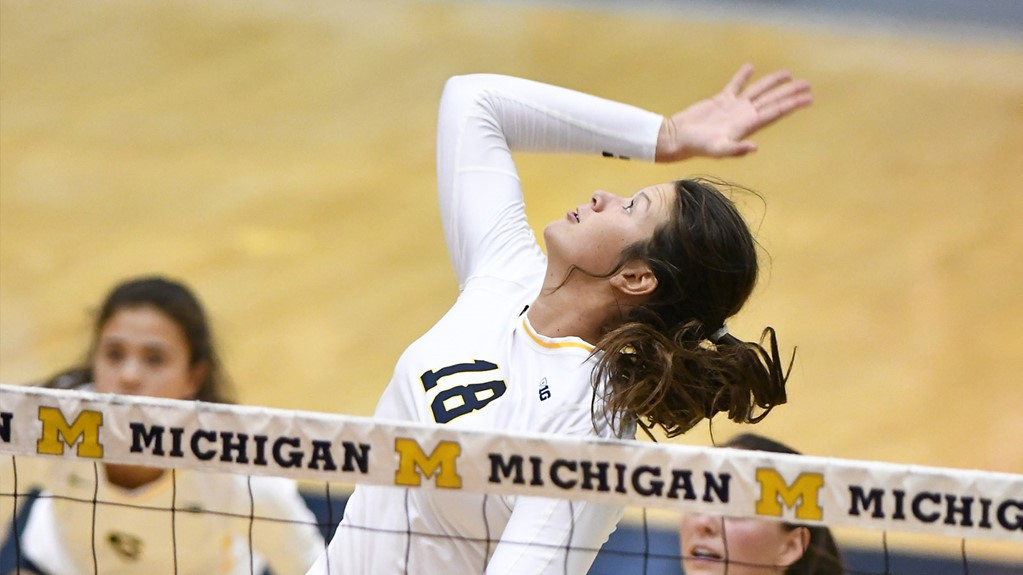 Michigan's Carly Skojdt Picks Up AVCA Player Of The Week Accolades