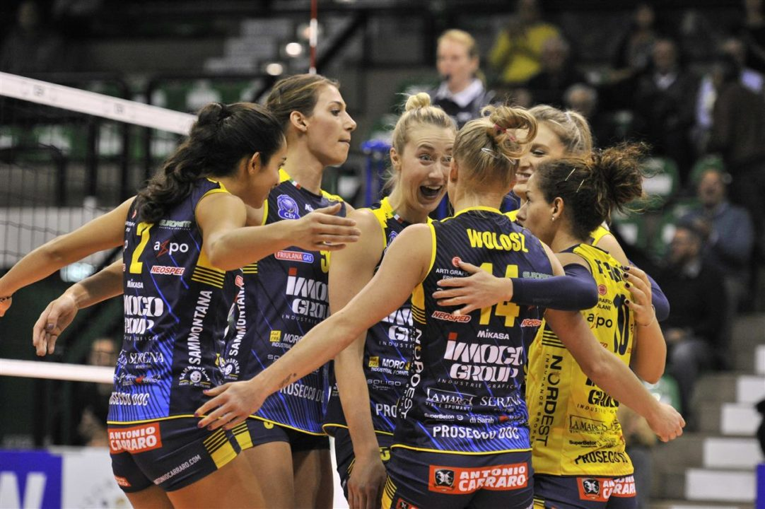 VakifBank & Imoco Volley Dominate 3rd Round Champions League Matches