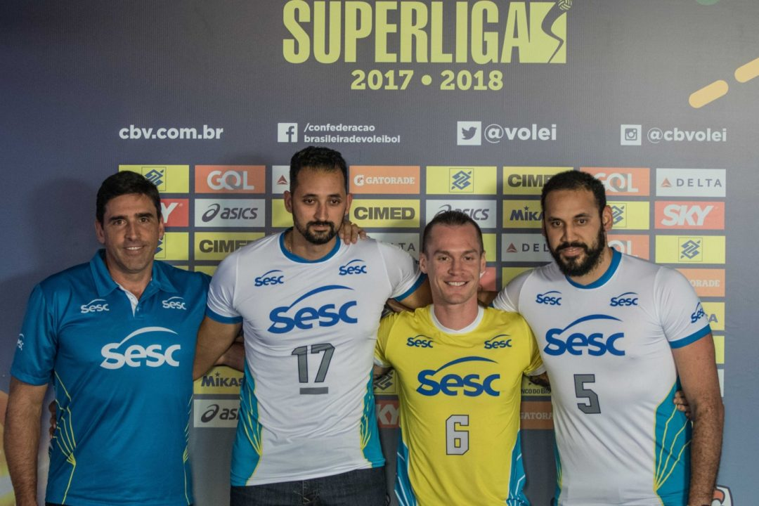 SESC/RJ Is Rising Up Men's Superliga's Ranks. Round 5 Recap.