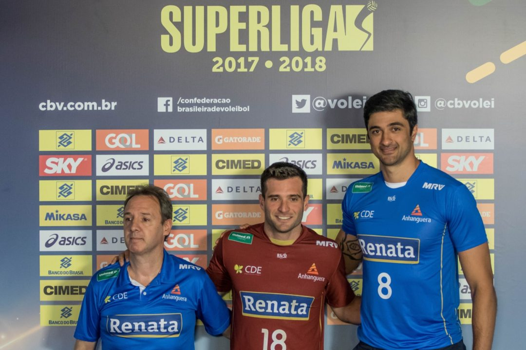 Renata Upset Taubaté In 5-Set Thriller – Superliga's Round 8 Recap