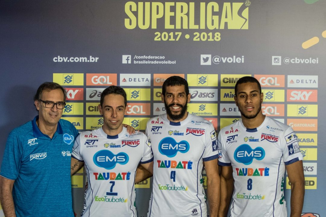 Taubaté Beats Cruzeiro In Best Match Of Season So Far. Superliga Recap