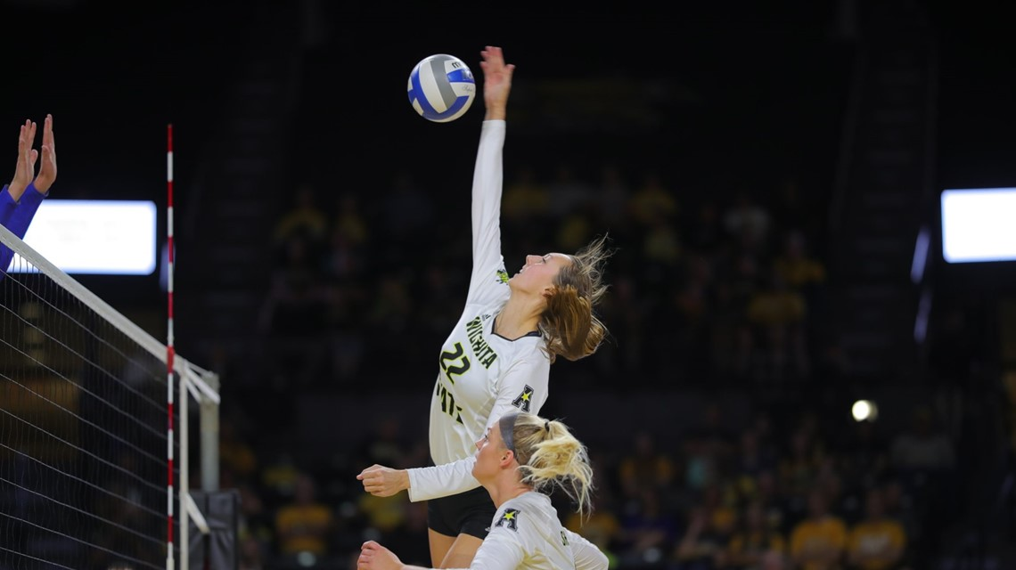 Shockers Hits .457, Notches Eighth Straight Sweep