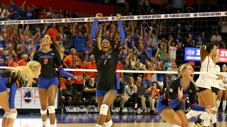 Alhassan Becomes Florida's Career Blocks Leader in Sweep of Tennessee