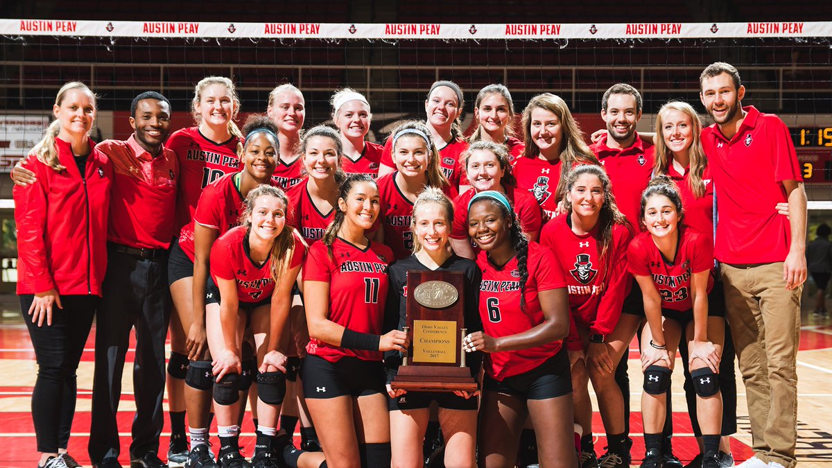 Austin Peay Takes Ohio Valley Title Outright With Sweep