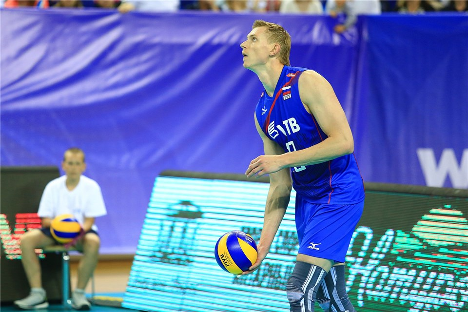 Russian Men: Belogorie Sweeps Kuzbass to Remain in 2nd Place