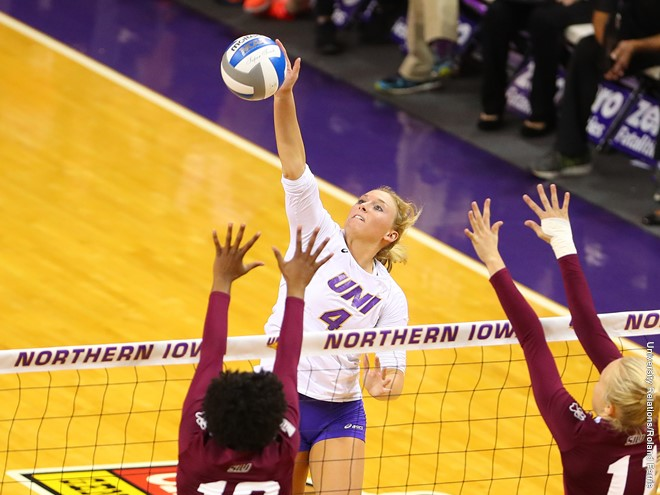 UNI Sweeps Drake in MVC Regular-Season Finale