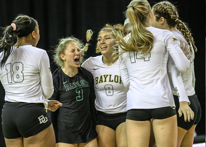 Pressley Posts Career-Best 24 Kills In Baylor's 3-1 Win Over K-State