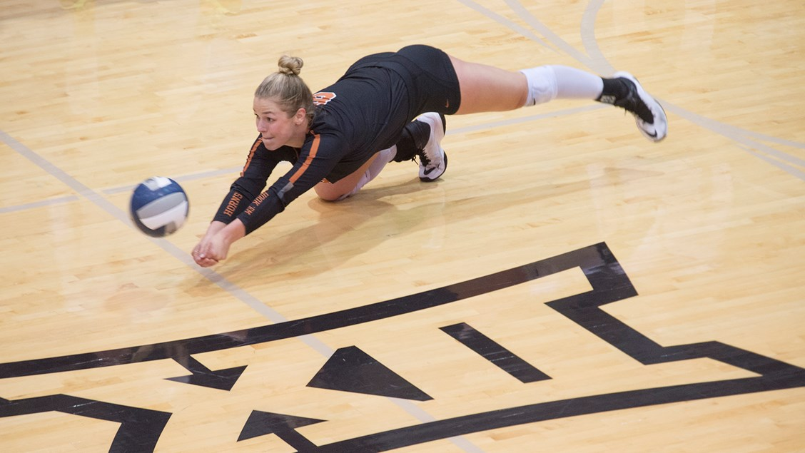 Cat McCoy Sets Texas Longhorns School Record for Career Digs