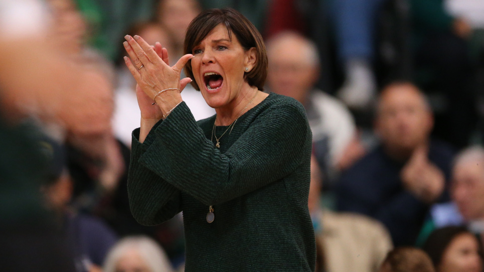 Cathy George Makes History in #11 Michigan State's Sweep of Wildcats