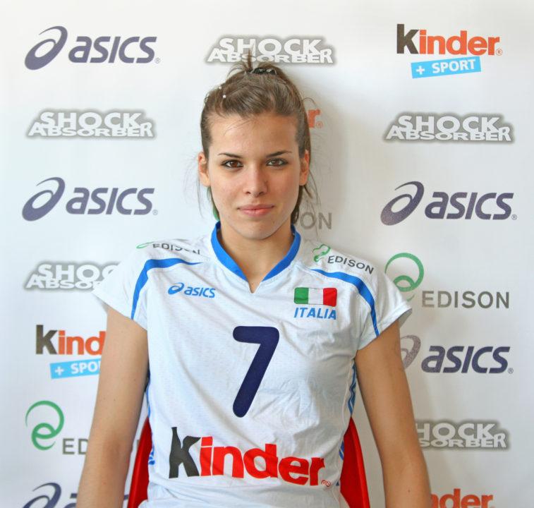 Lardini Filottrano Signs Italian National Teamer Giulia Pisani