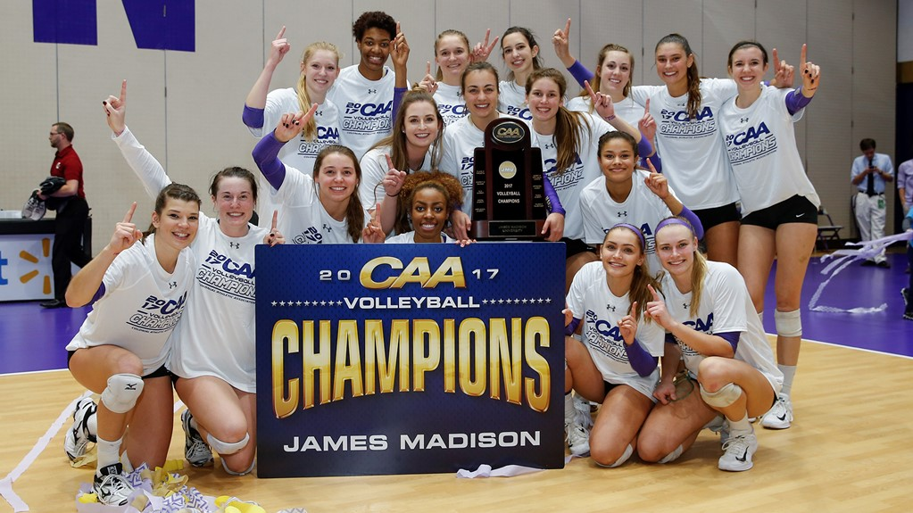 James Madison Block Lifts Dukes to 2nd-Straight CAA Title