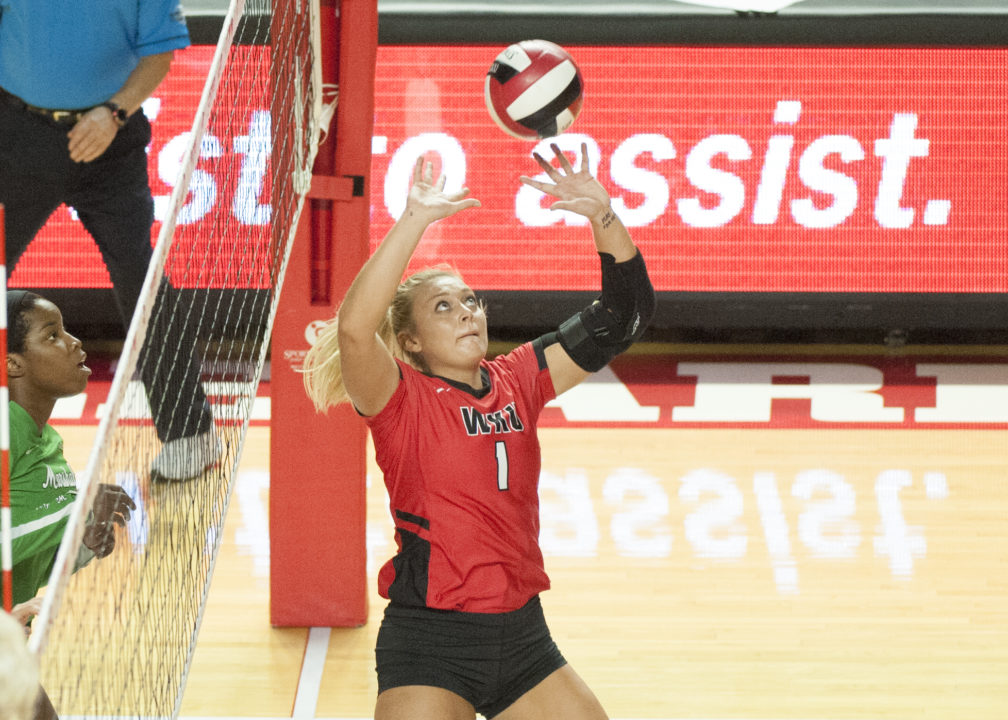 WKU's Jessica Lucas Named C-USA Scholar Athlete of the Year for VB