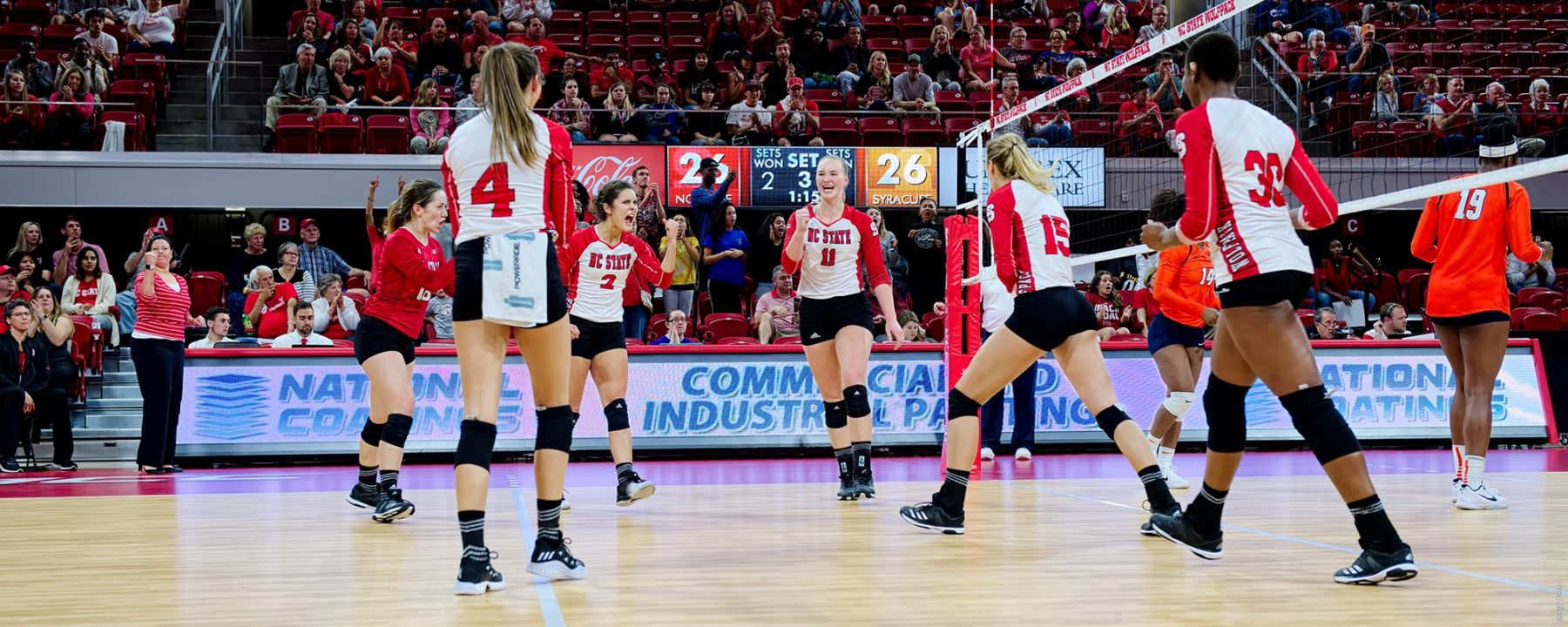 N.C. State to Play 19 Matches vs. RPI Top 100 in 2018