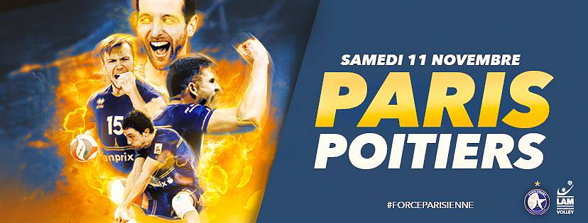 Watch Live: Mitch Stahl and #4 Paris Volley vs. #5 Poitiers, 2 PM ET