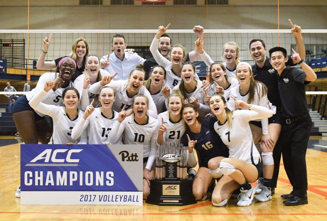 Pitt Sweeps Virginia to Claim ACC Co-Championship