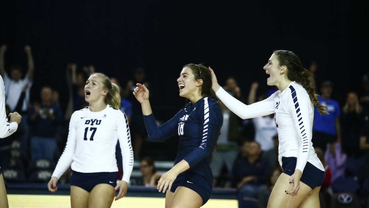 BYU Posts Convincing Sweep Over Gonzaga Behind 16 Jones-Perry Kills