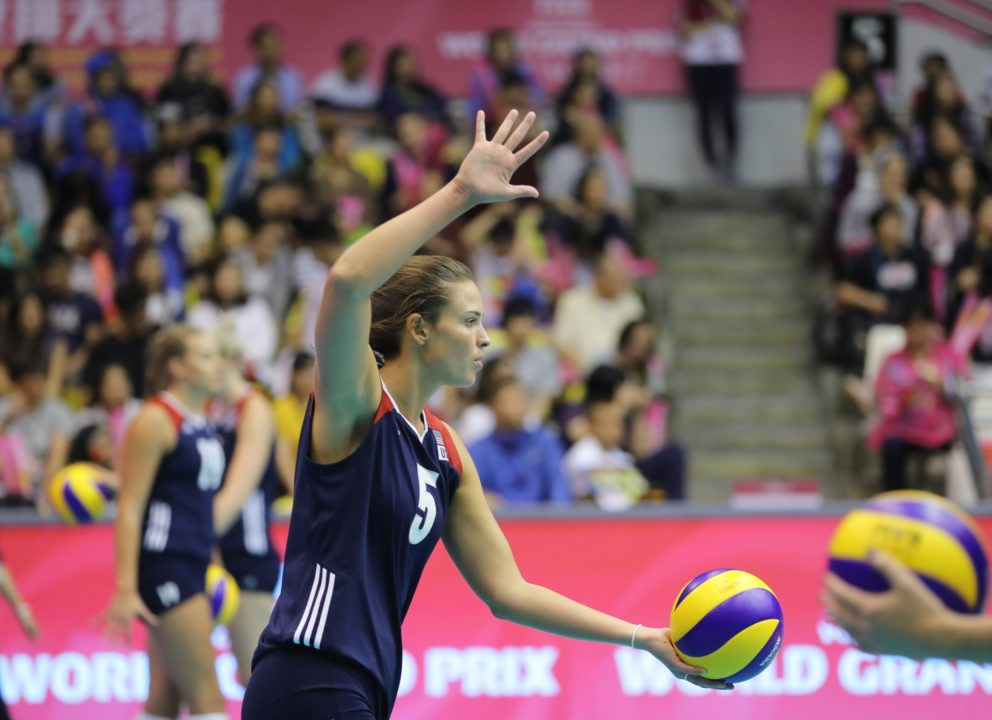 Team USA's Sarah Wilhite Injuries Ankle In Italy's Serie A1