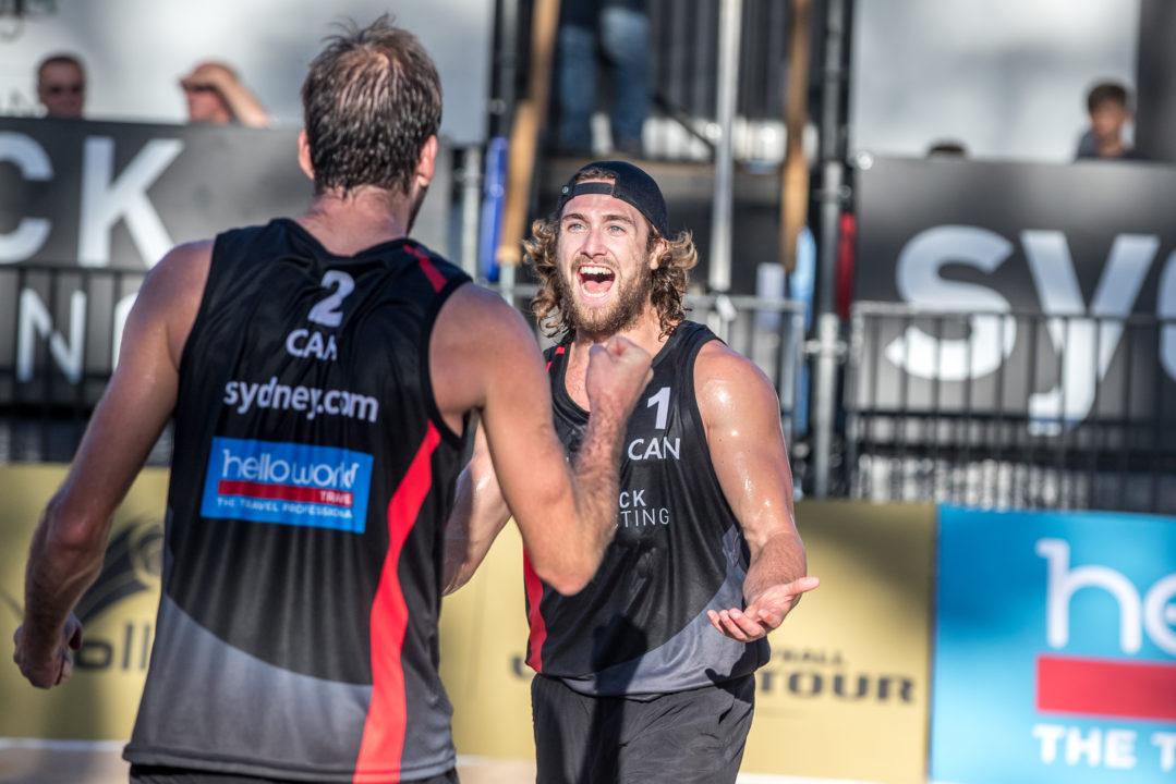 Ben Saxton/Grant O'Gorman Win 1st FIVB Beach Event As Pair In Sydney