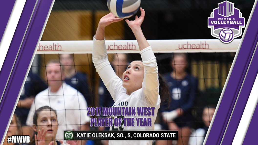 CSU's Katie Oleksak Tabbed Mountain West Player Of The Year