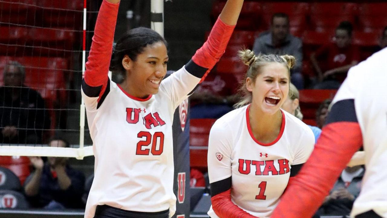 Anae and Luafalemana Lead #17 Utah to Senior Night Win Over Arizona