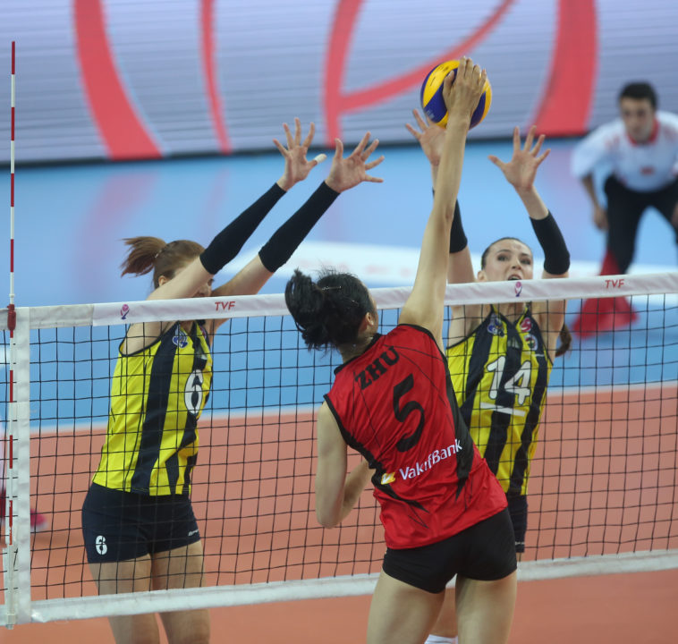 Turkish Women: Zhu Ting Helps Lead Fenerbahce To First League Loss