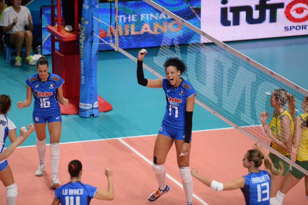 "Brazil's Sesi/Bauru Signs 6'7"" Italian Opp Valentina Diouf"