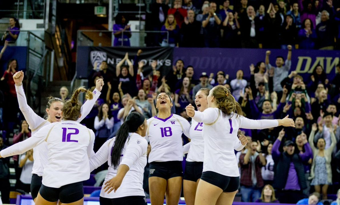 #8 Washington Tops #16 Oregon via Sweep Behind Big Night by Bajema