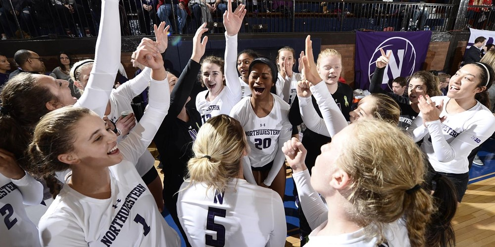Northwestern Set to Play Seven Top 25 Foes, Return to Welsh-Ryan Arena