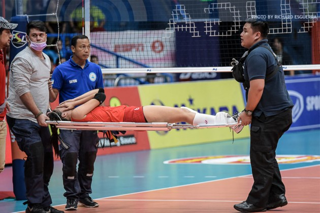 Cignal's Jovelyn Gonzaga Officially Diagnosed With Torn ACL