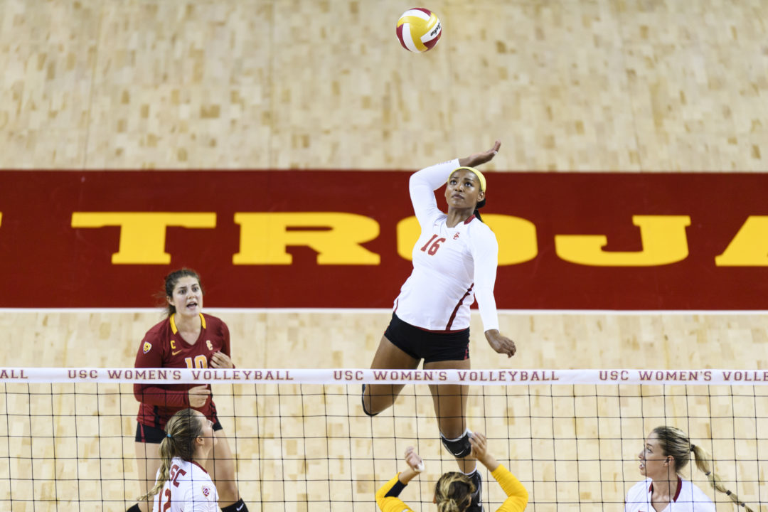 Lanier, Botkin & Gross Combine for 57 Kills as #10 USC Gets By (RV) Colorado in 5