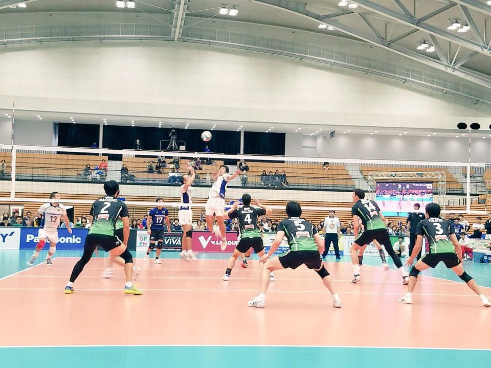 Japan Men's League: Panasonic & Toyota are still undefeated