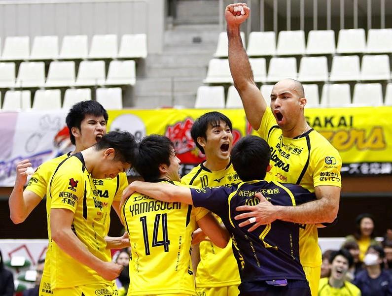 Japan Men's League: Trefuerza still top, Sakai get first win
