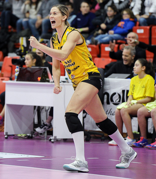 Annie Drews Now A Free Agent After Leaving SAB Volley Legnano