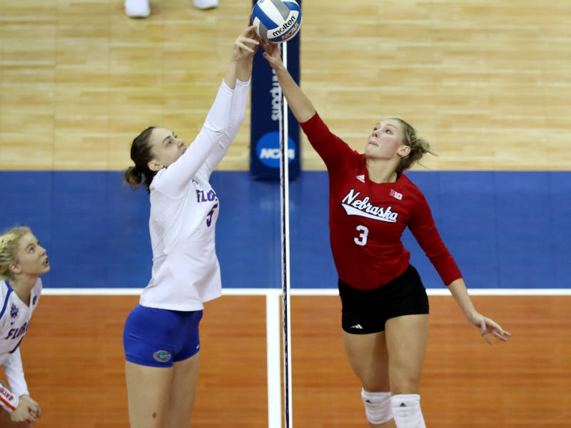 Nebraska's Hunter/Foecke Named Co-MVP's Of NCAA Tournament