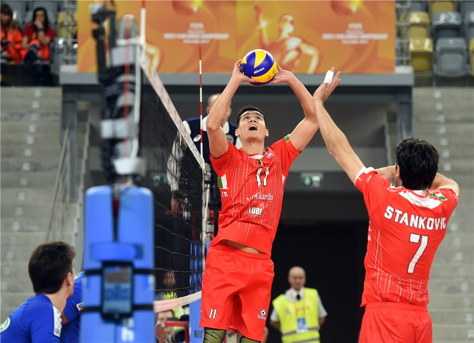 LUBE And Zenit Kazan Sweep Competition On Day 1 Of 2017 FIVB Club WCH