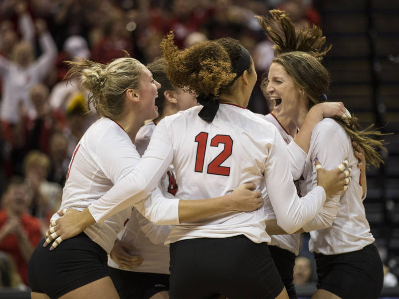 Nebraska Gets By Stony Brook On Serves, WSU Powers Through FSU In Four