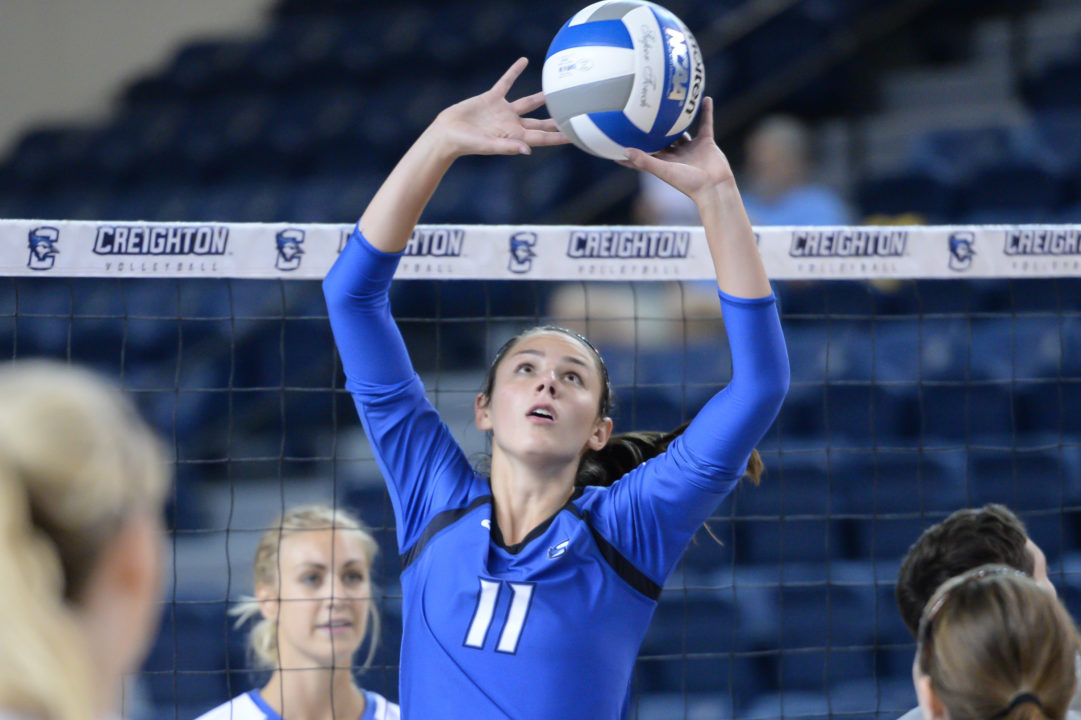 Ex-Creighton Setter Jaclyn Taylor Transferring to Nearby Omaha