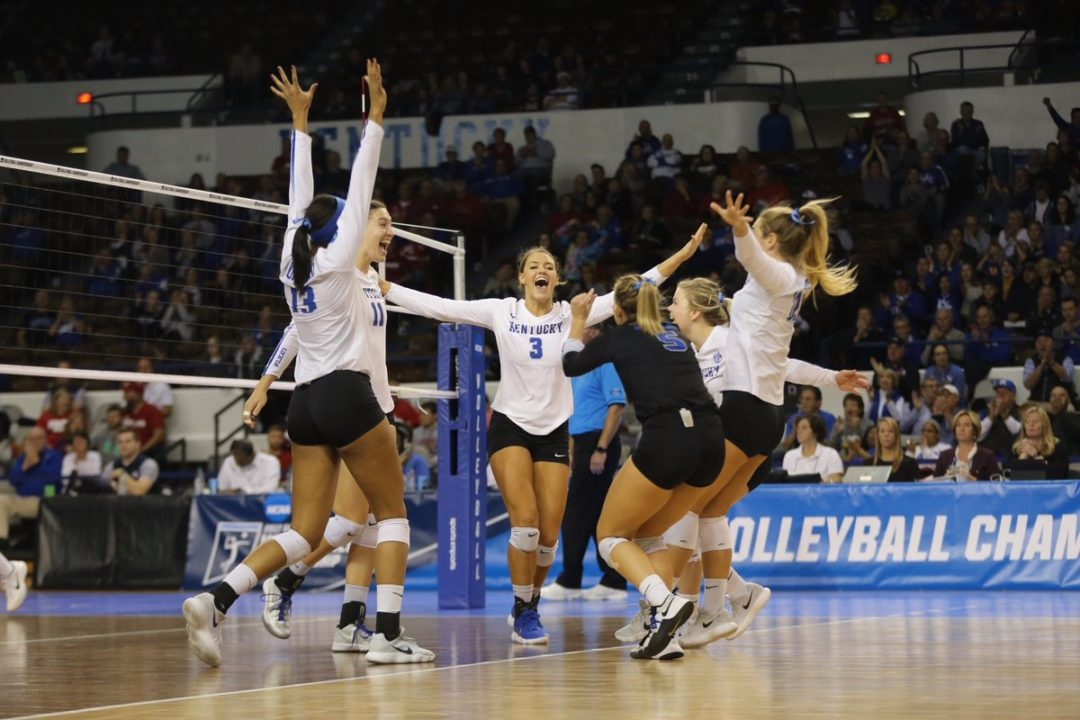 Edmond Paces Kentucky to Elite Eight Berth, 5-Set Win over BYU
