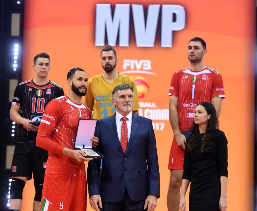 Osmany Juantorena Wins Record 4th MVP At Club World Championships