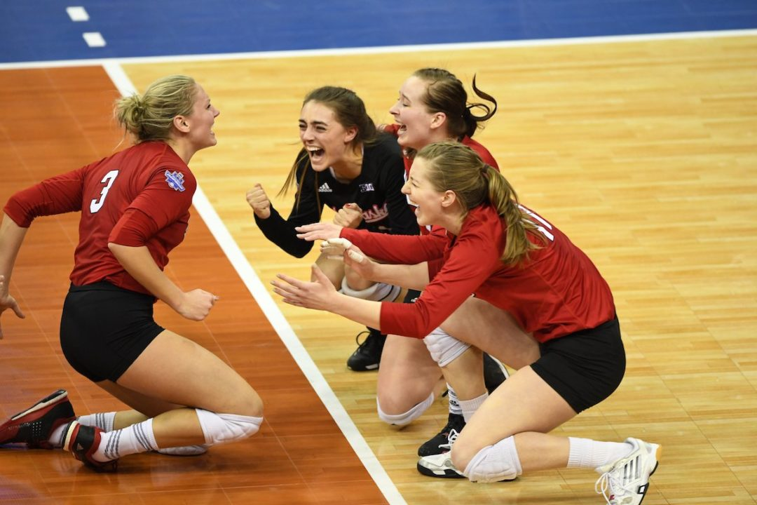 Foecke Leads #5 Nebraska to Championship Match, 5-Set Win Over PSU