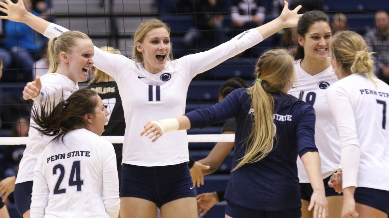 Penn State to Play Stanford, 7 More Matches Against 2017's Sweet 16