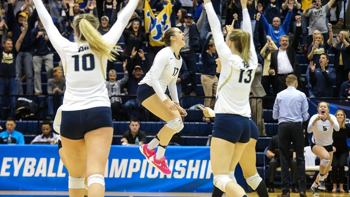 Pitt Uses 4 Double-Doubles to Top VCU; No. 1 Penn State Wins in Four over Howard