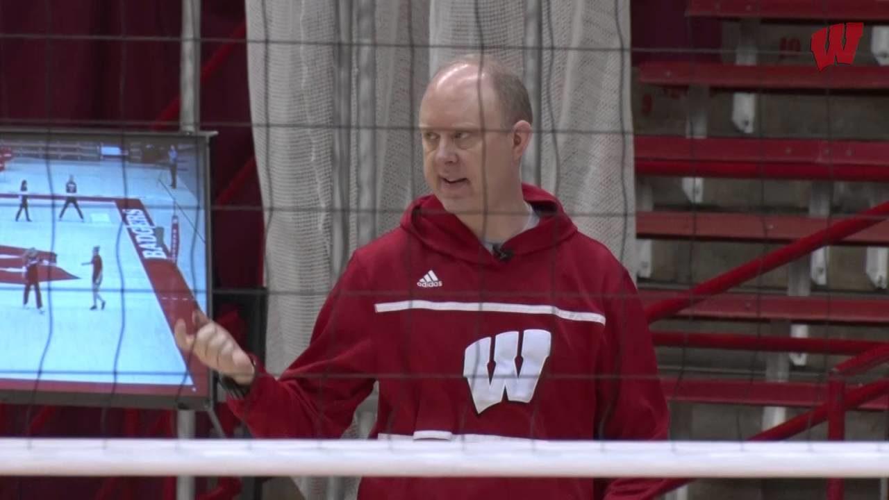 Wisconsin Coach Kelly Sheffield Talks Stanford, Dana Rettke (VIDEO)
