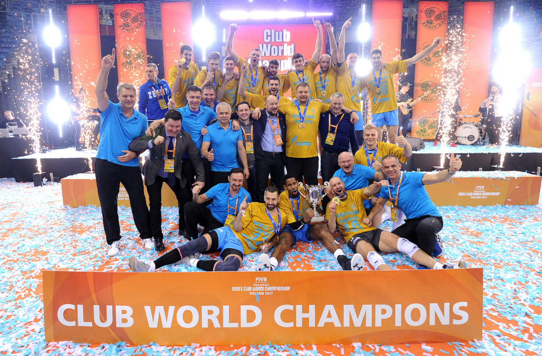 Zenit Kazan Wins Its First Ever FIVB Club WCH Title