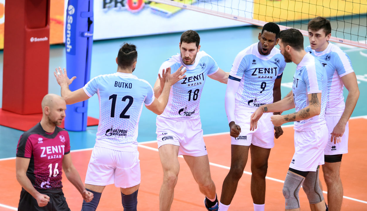 Zenit Kazan And Lube Civitanova To Face-Off In FIVB Club WCH Finals