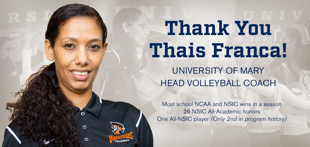 Mary's Thais Franca Resigns As Head Coach After Four Seasons