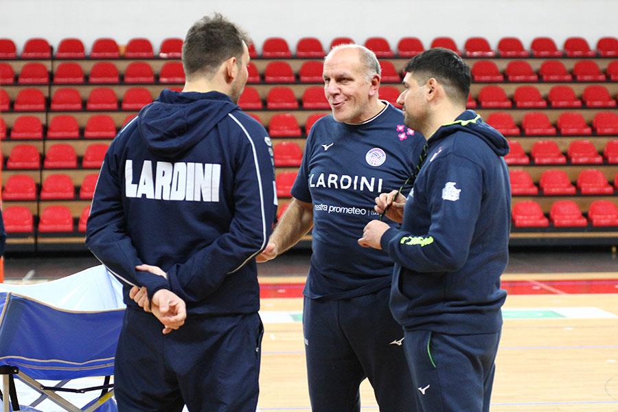 Lardini Filottrano Coach, Alessandro Beltrami Released